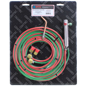 GENTEC KCMA04SP Compact Torch Oxy-Acetylene Kit for Soldering and Brazing