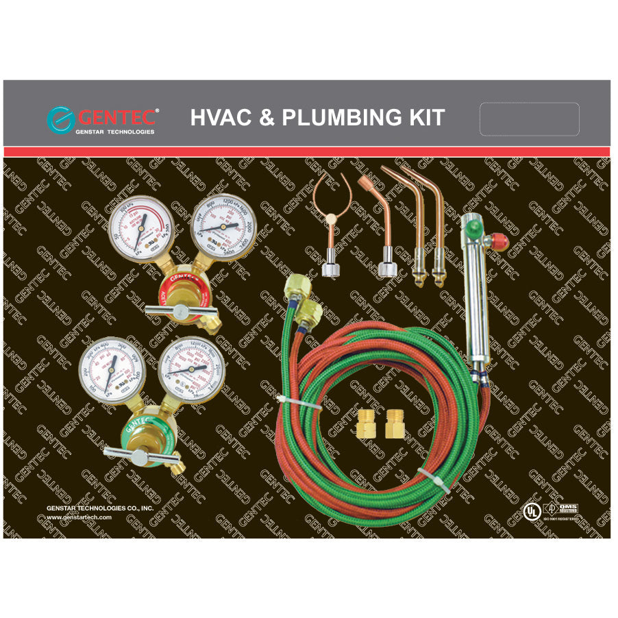 GENTEC Compact Torch Kit KCMA16SP, Soldering/Brazing