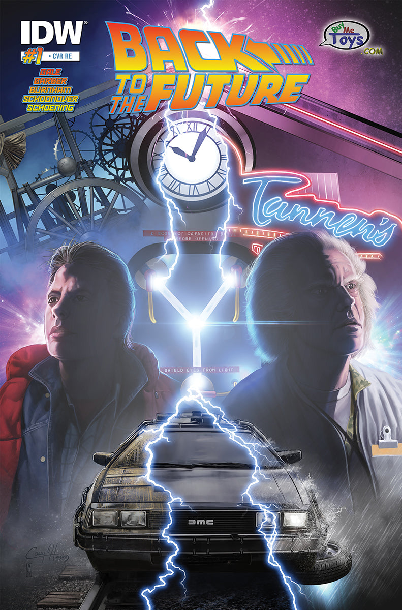 Back to the Future #1 BuyMeToys.Com Exclusive Cover