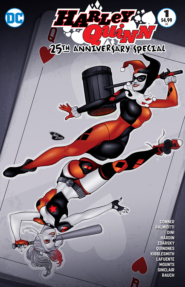 Harley Quinn 25th Anniversary Special #1 BuyMeToys.Com Exclusive - Limited Edition