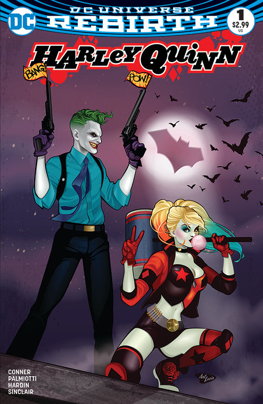 Harley Quinn #1 BuyMeToys.Com Exclusive