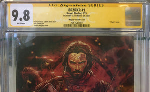 BRZRKR (BERZERKER) #1 1:1000 Signed by Keanu Reeves 9.8 CGC (MR)