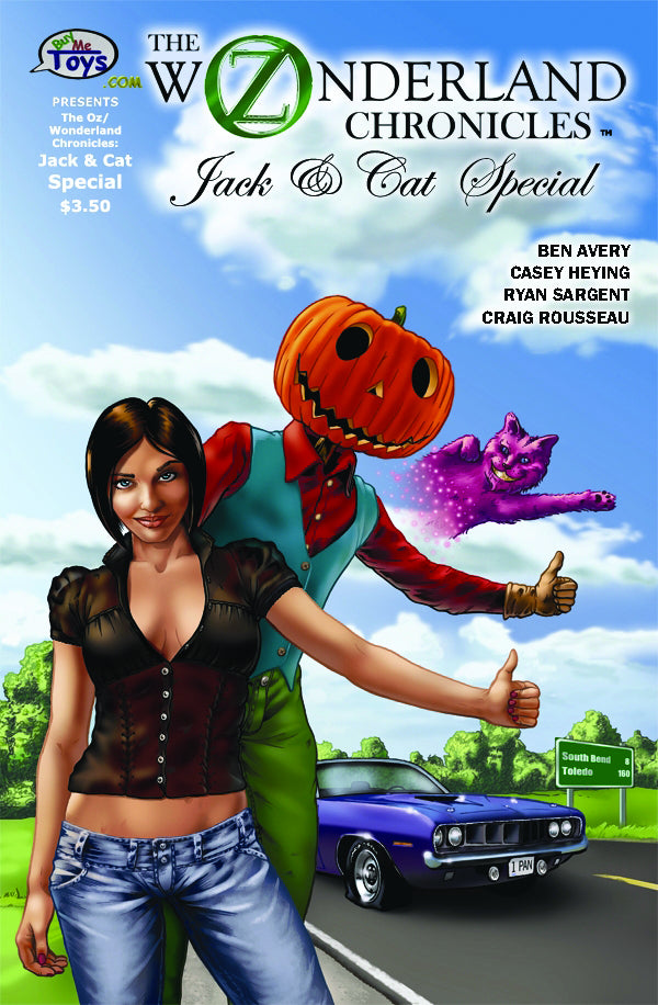 THE OZ/WONDERLAND CHRONICLES: JACK & CAT SPECIAL