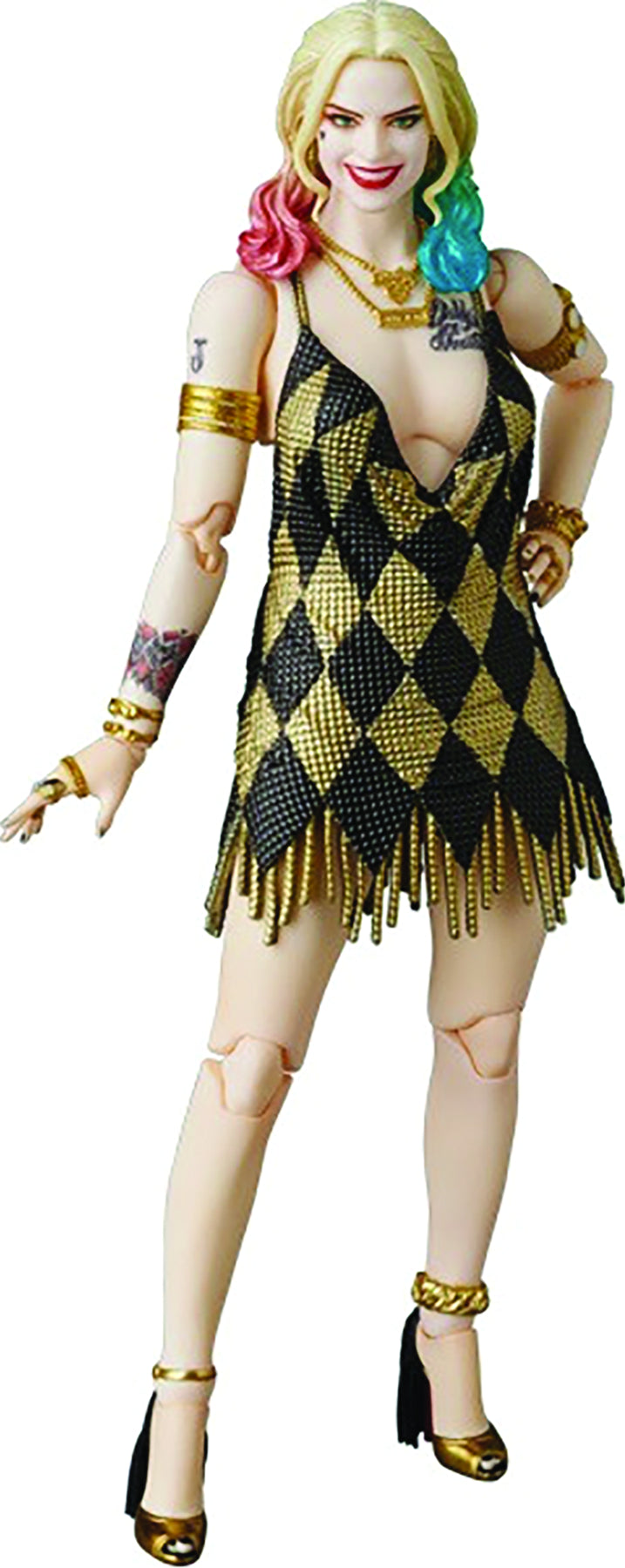 SUICIDE SQUAD HARLEY QUINN MAFEX DRESS VERSION FIGURE