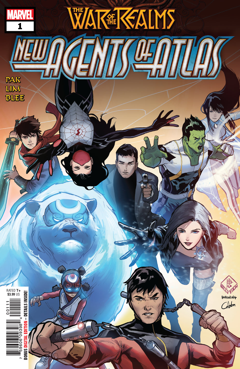 WAR OF REALMS NEW AGENTS OF ATLAS #1
