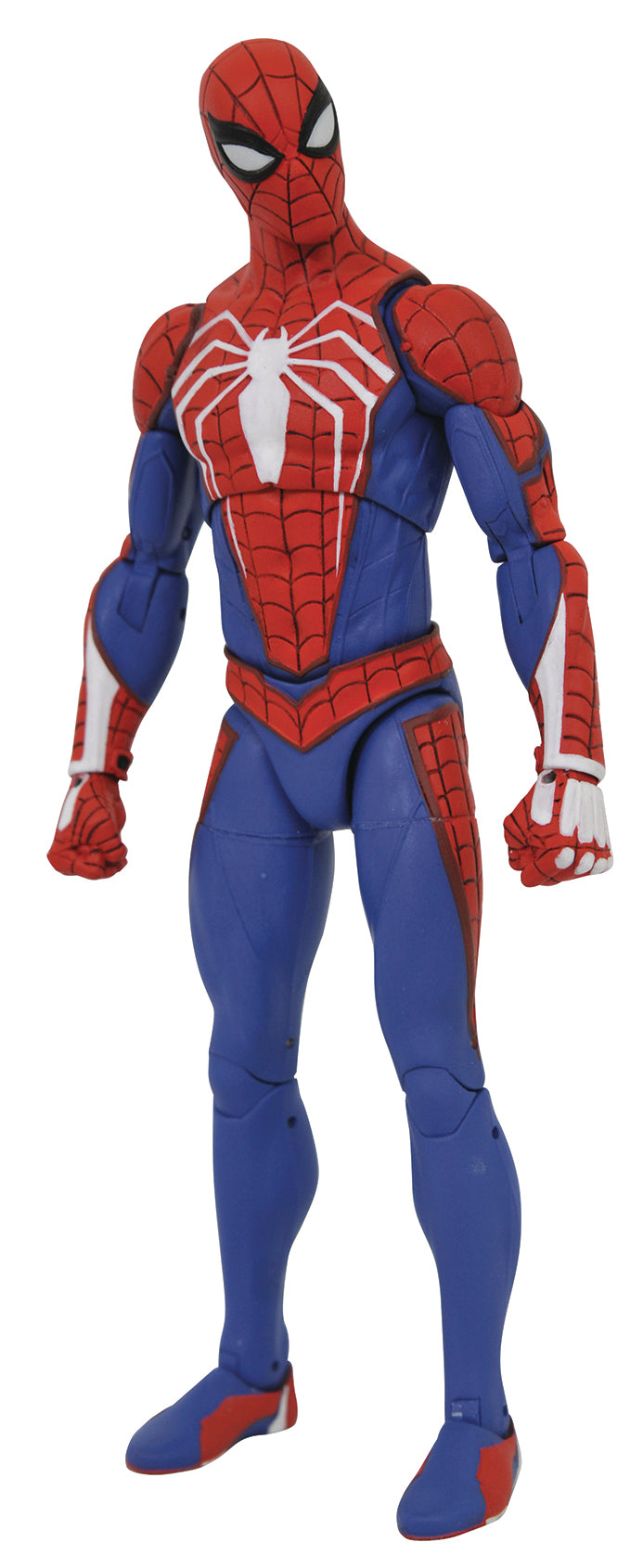 MARVEL SELECT SPIDER-MAN VIDEO GAME PS4 FIGURE