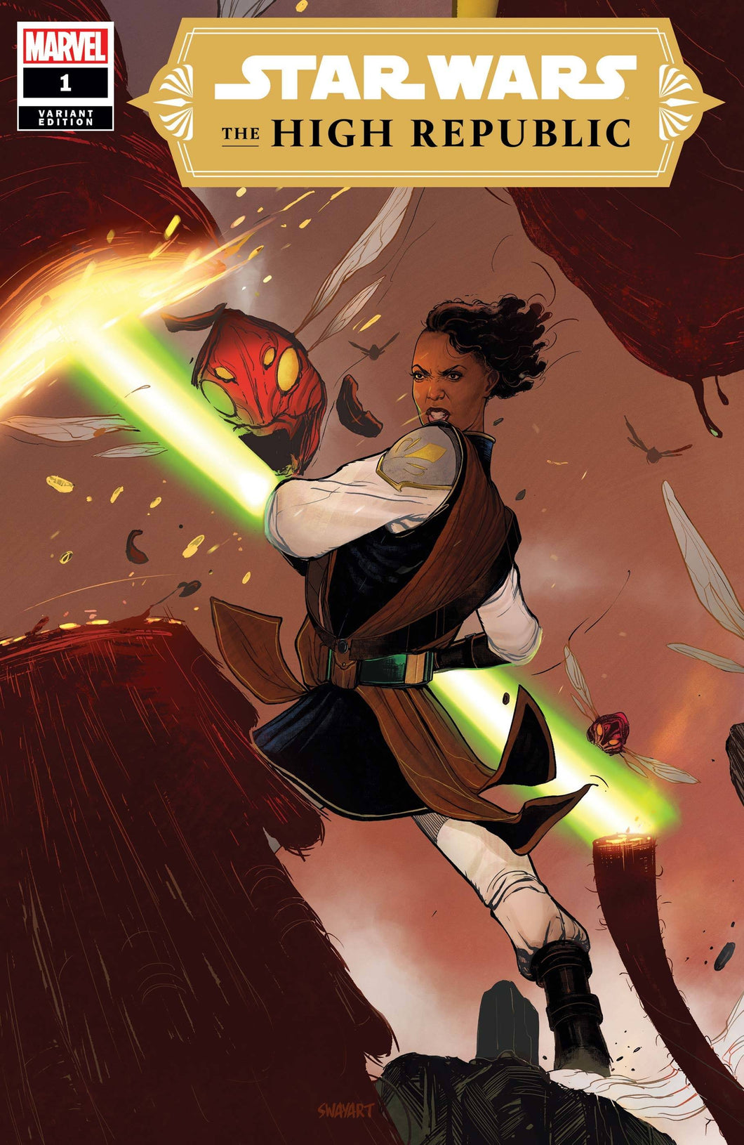 STAR WARS HIGH REPUBLIC #1 SWAY VARIANT