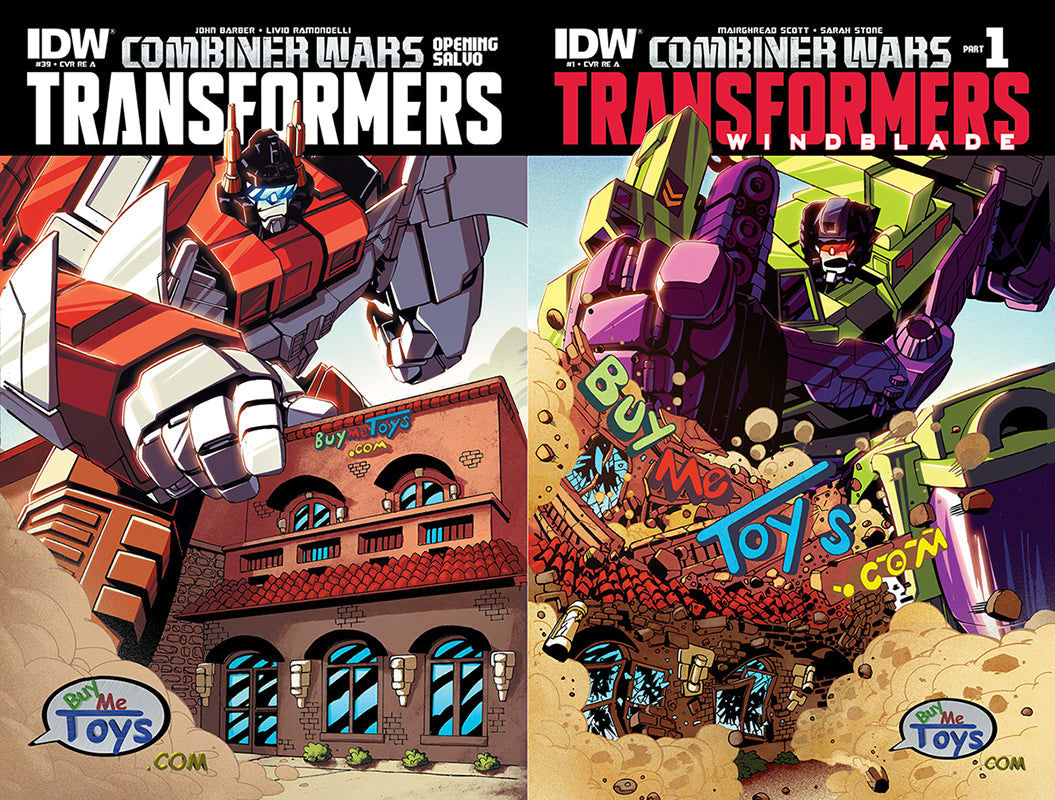 Transformers BuyMeToys.Com Exclusive Cover Set