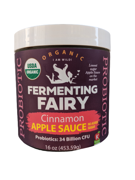 *NEW* Cinnamon Apple Sauce - Fermenting Fairy