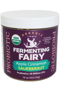 Apple Cinnamon Sauerkraut - Fermenting Fairy