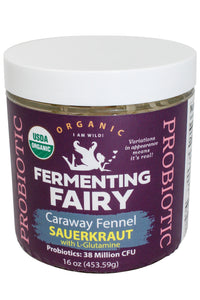 Caraway Fennel Sauerkraut with L Glutamine - Fermenting Fairy