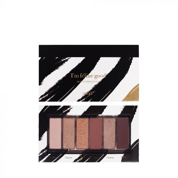 Palette yeux I'm feline good - Adopt maquillage, palettes, yeux - Maquillage, Parfums, Vernis, Rouge a levres, Ongles, Homme, Femme, Jolie, Belle, Beaute, beauty, High Class, Top prices, Top