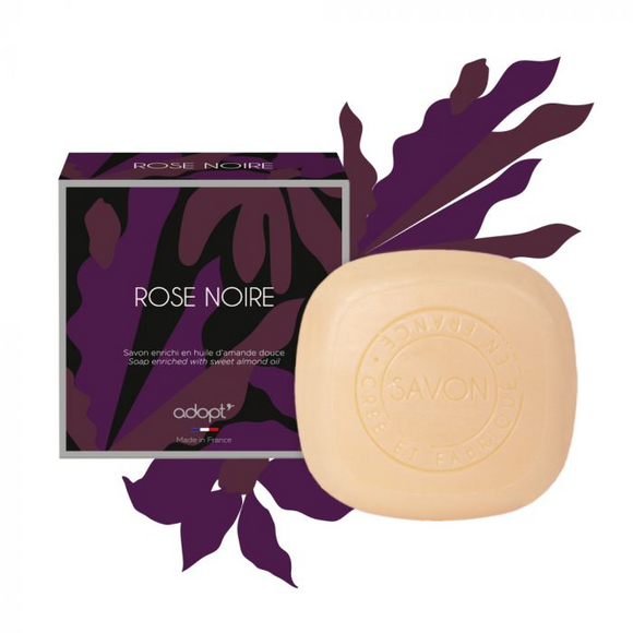 Rose Noire - Savon 100g - Adopt savon - Maquillage, Parfums, Vernis, Rouge a levres, Ongles, Homme, Femme, Jolie, Belle, Beaute, beauty, High Class, Top prices, Top Quality, France, Maurice