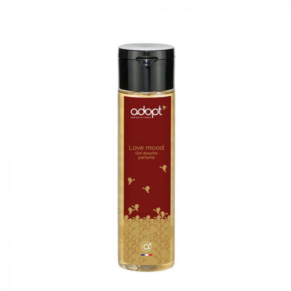 Love Mood - gel douche 250ml - Adopt gel douche, idees cadeaux, soin - Maquillage, Parfums, Vernis, Rouge a levres, Ongles, Homme, Femme, Jolie, Belle, Beaute, beauty, High Class, Top prices,
