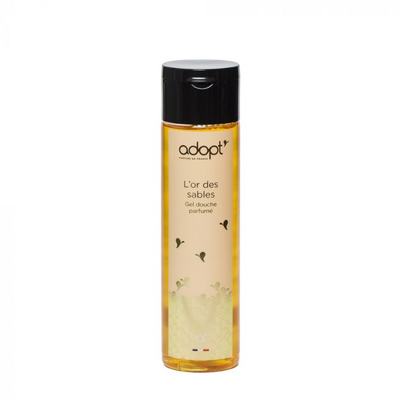 L'or des sables - gel douche 250ml - Adopt gel douche, soin - Maquillage, Parfums, Vernis, Rouge a levres, Ongles, Homme, Femme, Jolie, Belle, Beaute, beauty, High Class, Top prices, Top Qual