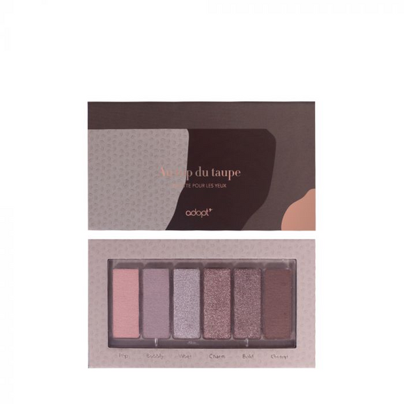 Palette Yeux Au Top du Taupe - Adopt maquillage, palettes, yeux - Maquillage, Parfums, Vernis, Rouge a levres, Ongles, Homme, Femme, Jolie, Belle, Beaute, beauty, High Class, Top prices, Top