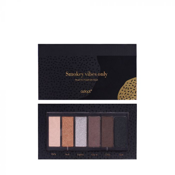 Palette Yeux Smokey Vibes Only - Adopt maquillage, palettes, yeux - Maquillage, Parfums, Vernis, Rouge a levres, Ongles, Homme, Femme, Jolie, Belle, Beaute, beauty, High Class, Top prices, To