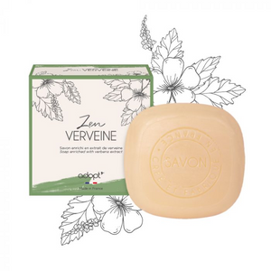 Zen Verveine - Savon 100g - Adopt savon - Maquillage, Parfums, Vernis, Rouge a levres, Ongles, Homme, Femme, Jolie, Belle, Beaute, beauty, High Class, Top prices, Top Quality, France, Maurice
