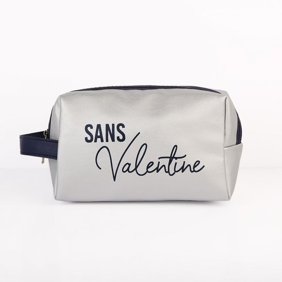 Trousse de toilette « Sans Valentine » - Adopt maroquinerie - Maquillage, Parfums, Vernis, Rouge a levres, Ongles, Homme, Femme, Jolie, Belle, Beaute, beauty, High Class, Top prices, Top Qu