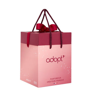 Sac boîte cadeau - Moyen - Adopt Noël - Maquillage, Parfums, Vernis, Rouge a levres, Ongles, Homme, Femme, Jolie, Belle, Beaute, beauty, High Class, Top prices, Top Quality, France, Maurice