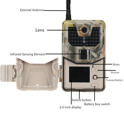 Cellular Wifi Trail Game Camera | Zincera