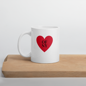 Heart Of NY Mug