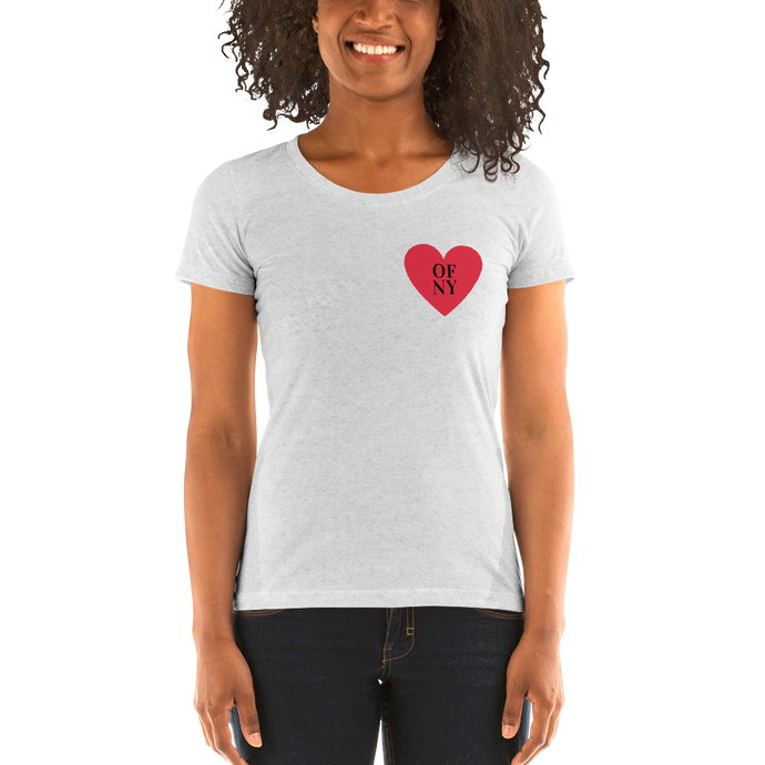 Heart of NY Ladies' short sleeve t-shirt - Skyway Trends