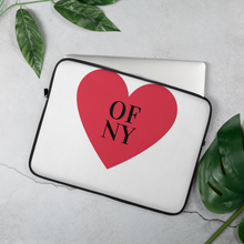 Load image into Gallery viewer, Heart Of NY Laptop Sleeve