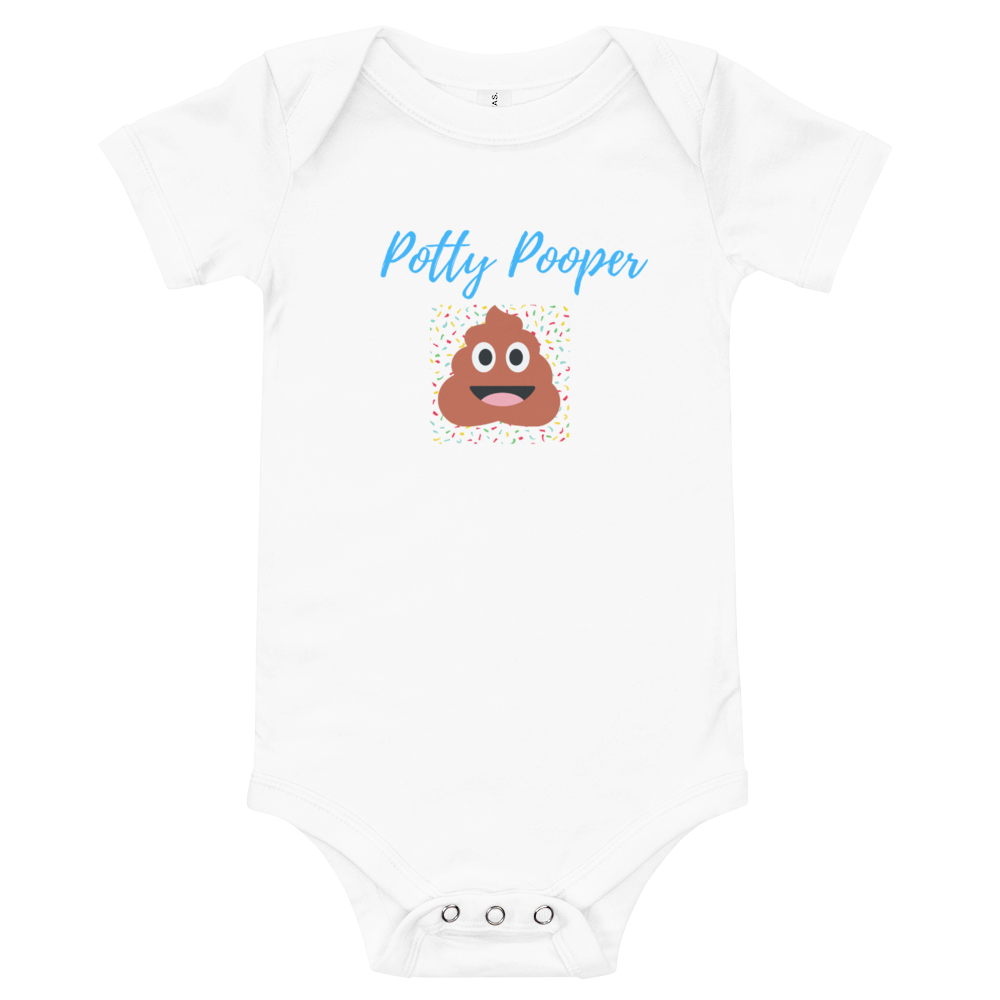 Potty Pooper onesie T-shirt - Skyway Trends
