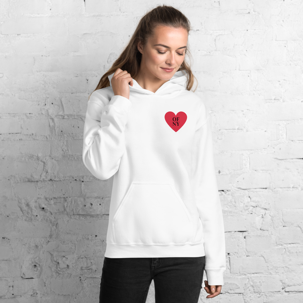 Heart Of NY Hoodie - Skyway Trends
