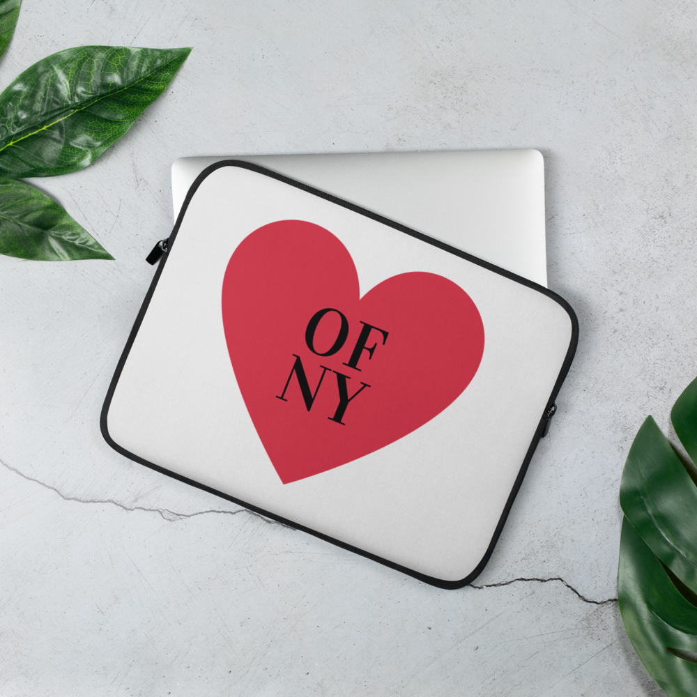 Heart Of NY Laptop Sleeve