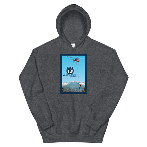 AirCrane Heli-logging Hoodie - Whistle Punk Clothing Co.