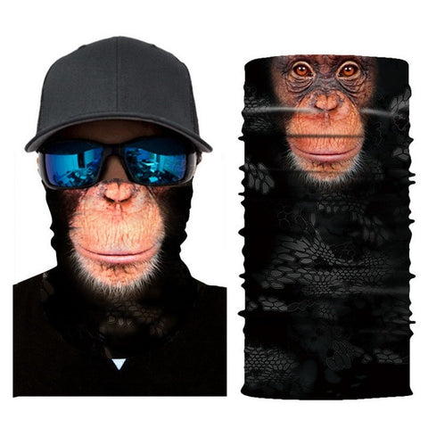 Cheeky Monkey Tube Bandana - Whistle Punk Clothing Co.