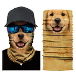 Golden Retriever Tube Bandana - Whistle Punk Clothing Co.