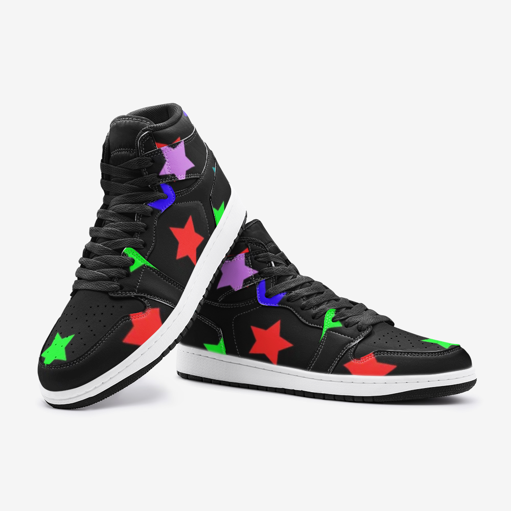 Unisex HI-Top- 5 Star Collection: Black Edition