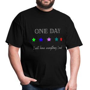 Men's T-Shirt- One Day: 5 Star - black