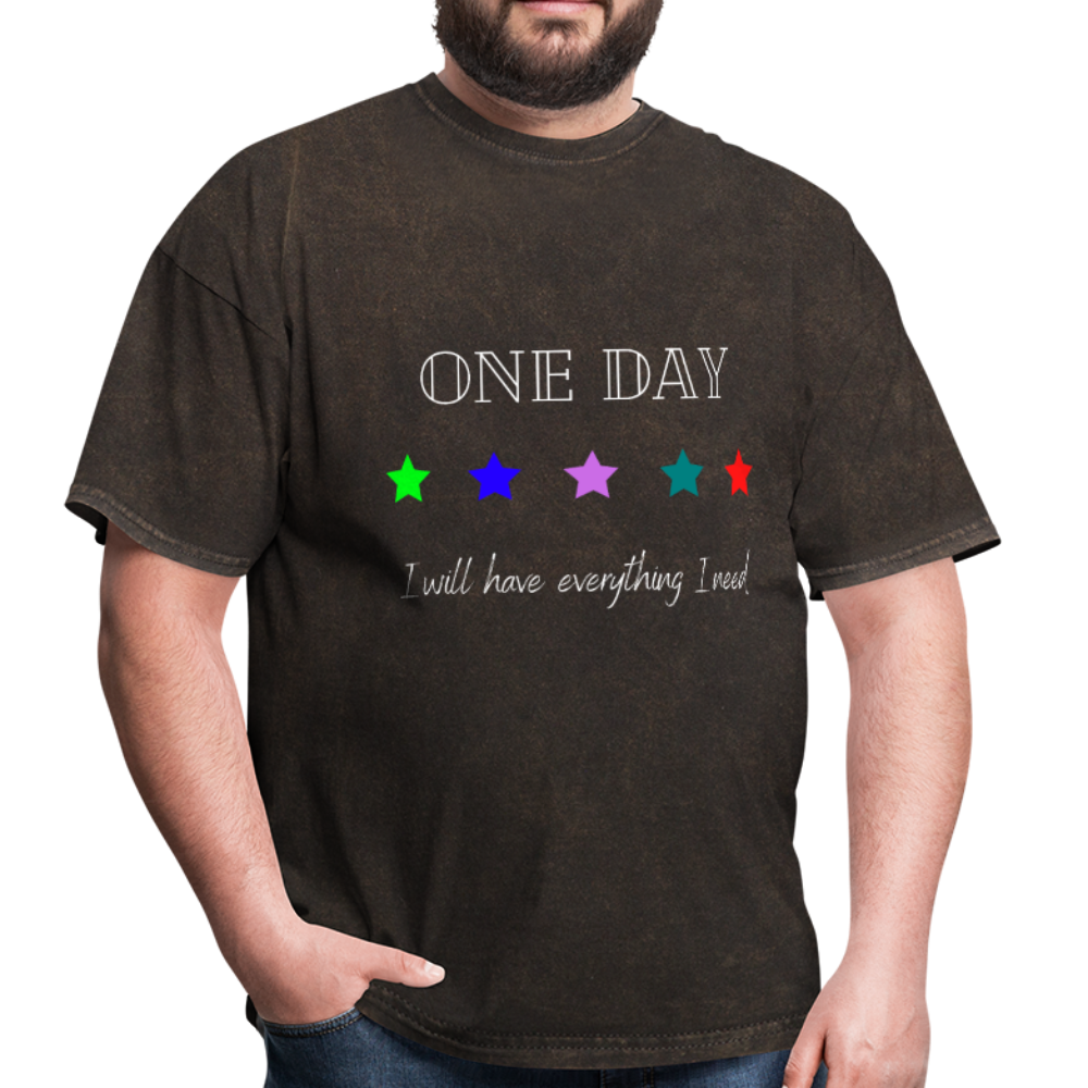 Men's T-Shirt- One Day: 5 Star - mineral black