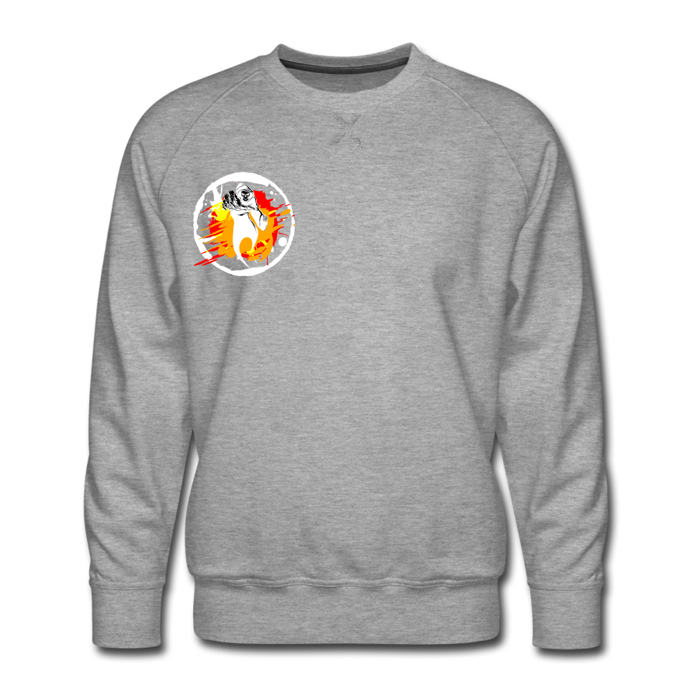 Grim Reaper- Sweatshirt - heather gray