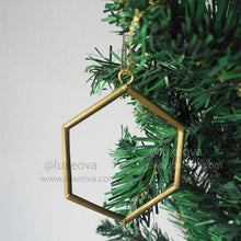 Load image into Gallery viewer, 3 Sets (12 Ornaments) Carol Christmas Geometric Ornaments