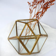 Load image into Gallery viewer, Denisa Glass Box Cuboctahedron (Small)