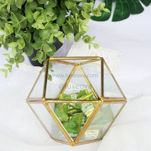 Denisa Glass Box Cuboctahedron (Small)
