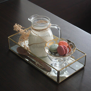 Madison Glass Tray [Set of Two]