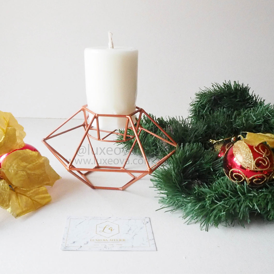 Noelle Wire Candle Holder