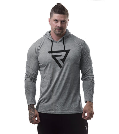 Restless Tight Hoodie Grey - Restless Industries