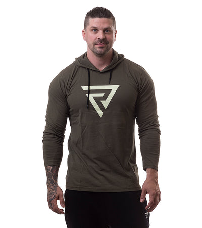 Restless Tight Hoodie Green - Restless Industries
