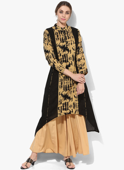 Get Glamr Women's Cotton High Low Kurta