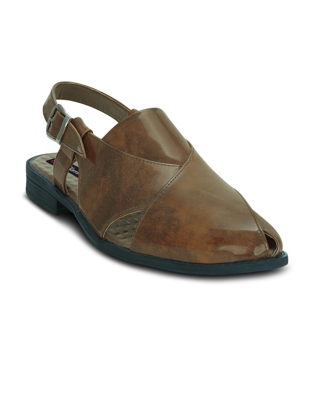 Get Glamr Men's Tradition Peshawari Sandals