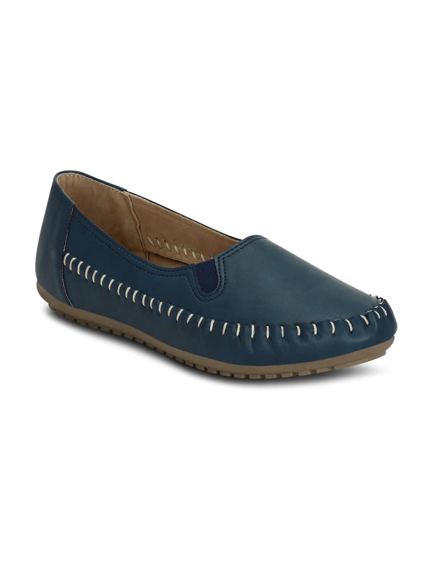 Moc toe patterned comfort Ballerinas