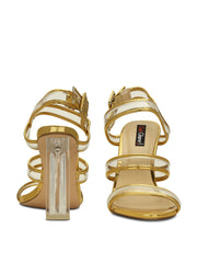Sandals Open Toe Synthetic 4 inches