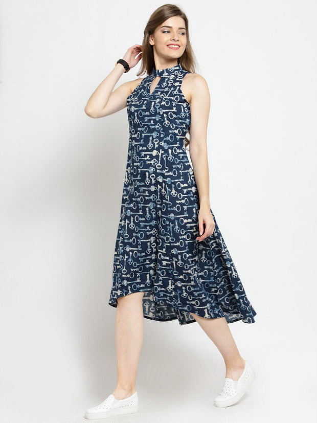 Get Glamr Women's Cotton A-Line Dress